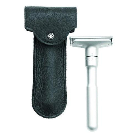 Merkur Double Edge Razor Leather Case
