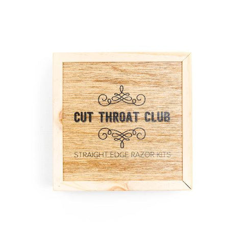 Cut Throat Club Small Razor Box