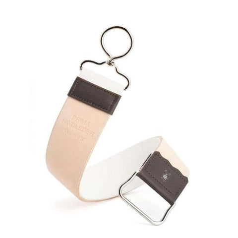 Muhle Two-Sided Leather and Fabric Hanging Strop