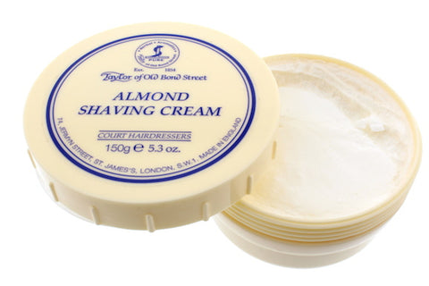 Taylors of Old Bond Street - Almond Shaving Cream