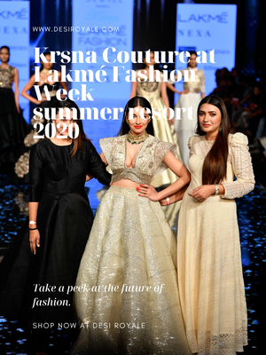 Krsna Couture at Lakmé Fashion Week summer/resort 2020