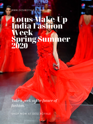 Lotus Make-Up India Fashion Week spring/summer 2020 - Dolly J