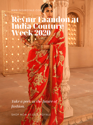 Reynu Taandon at India Couture Week 2020