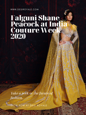 Falguni Shane Peacock at India Couture Week 2020