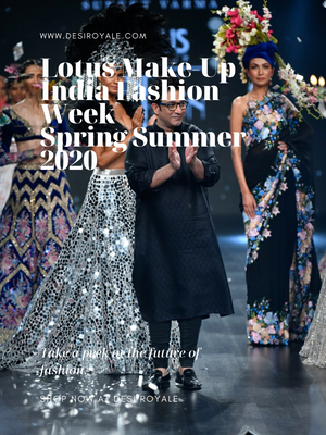 Lotus Make-Up India Fashion Week spring/summer 2020 - Suneet Varma