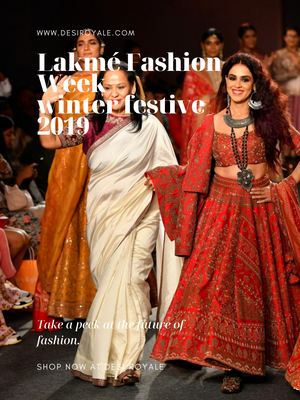 Lakmé Fashion Week winter/festive 2019 - Saroj Jalan