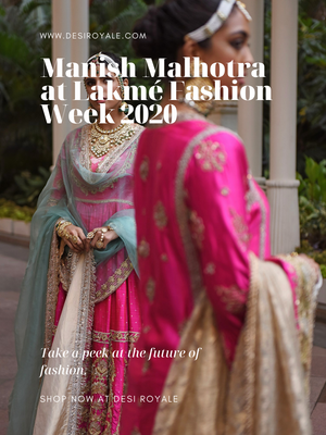 Manish Malhotra at Lakmé Fashion Week 2020