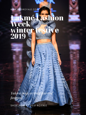 Lakmé Fashion Week winter/festive 2019 - Disha Patil