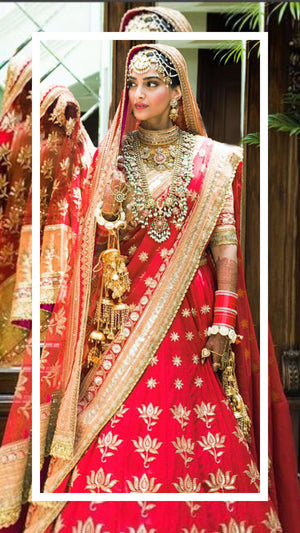 Checkout Sonam Kapoor's wedding pictures