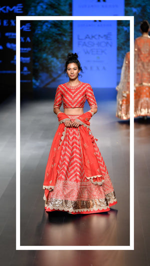Lakme Fashion week - winter/festive 2018 - Jayanti Reddy