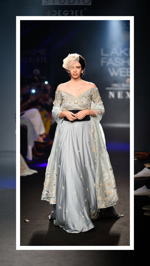 Lakme Fashion week - winter/festive 2018 - Gaurav Katta