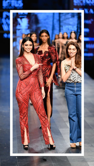 Lotus Make-up India Fashion Week spring/summer 2019 - Nikhita Mynah