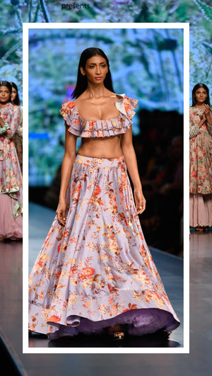 Lotus Make-up India Fashion Week spring/summer 2019 - Anushree Reddy