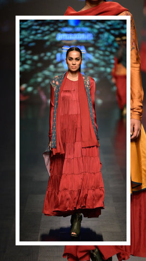 Amazon India Fashion Week Autumn/Winter 2018 - Anju Modi
