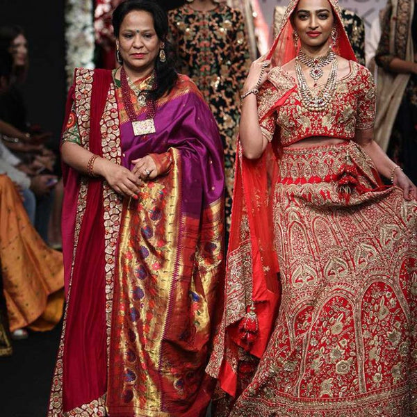 Lakmé Fashion Week winter/festive 2016 - Saroj Jalan
