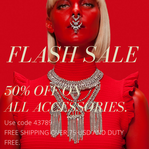 FLASH SALE  - 50 % OFF