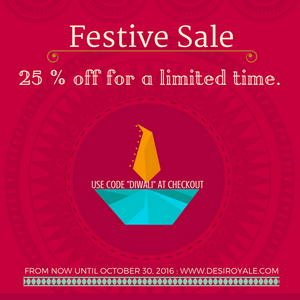 Festive Sale for a limited time only.