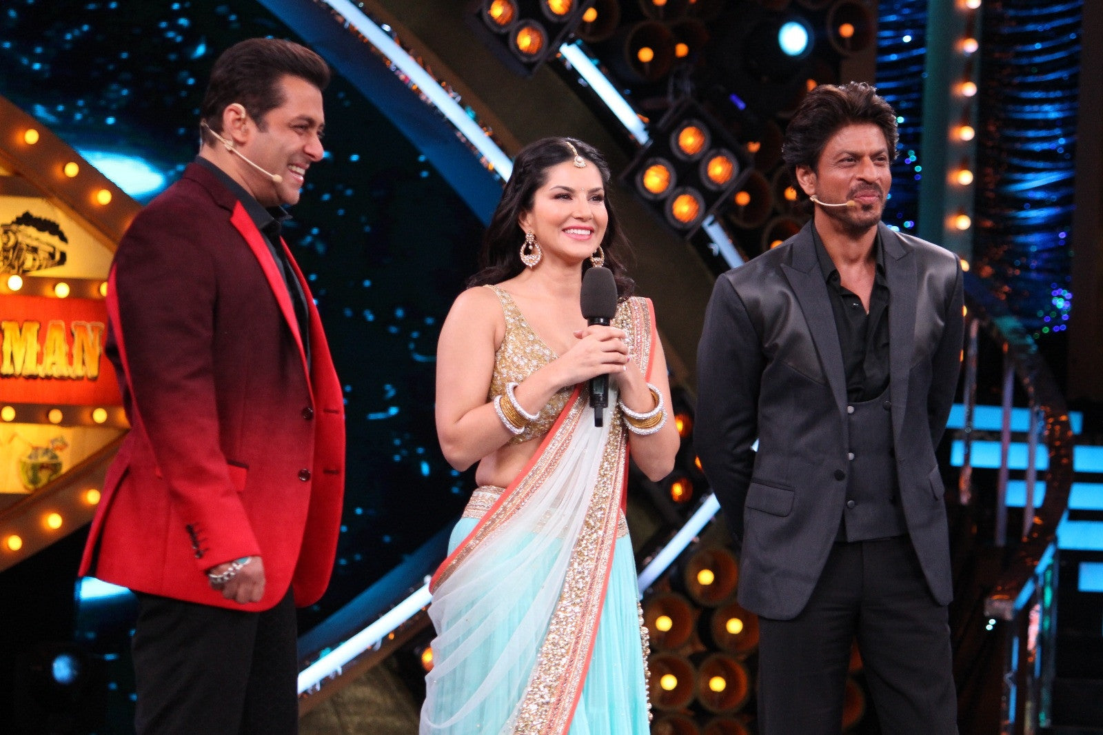 Sunny Leone bring the house down on the Bigg Boss 10 stage.