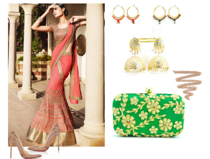 The Art of choosing the right set of accessories for sarees