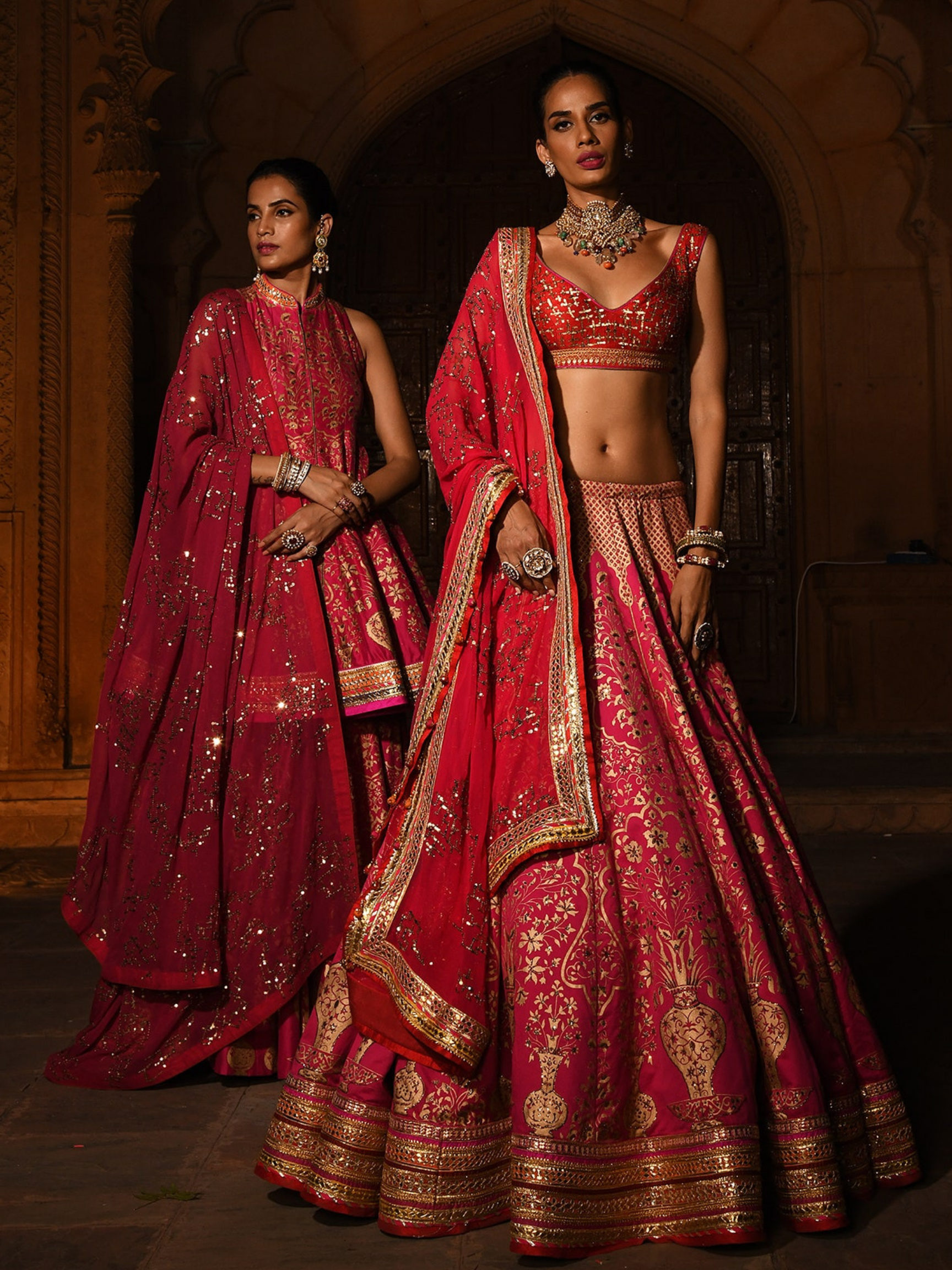 Desiroyale Reynu Taandon at India Couture Week 2020