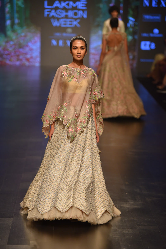 Anushree Reddy at Lakme Fashion Week 2019