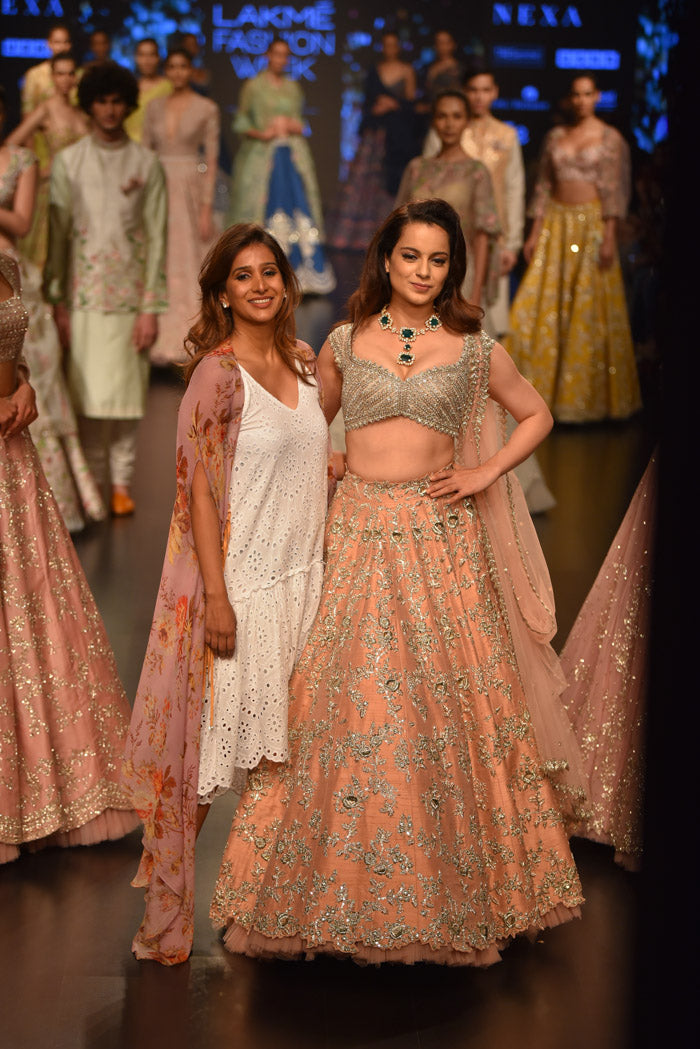 Anushree Reddy at Lakme Fashion Week 2019 - Kangana Ranaut