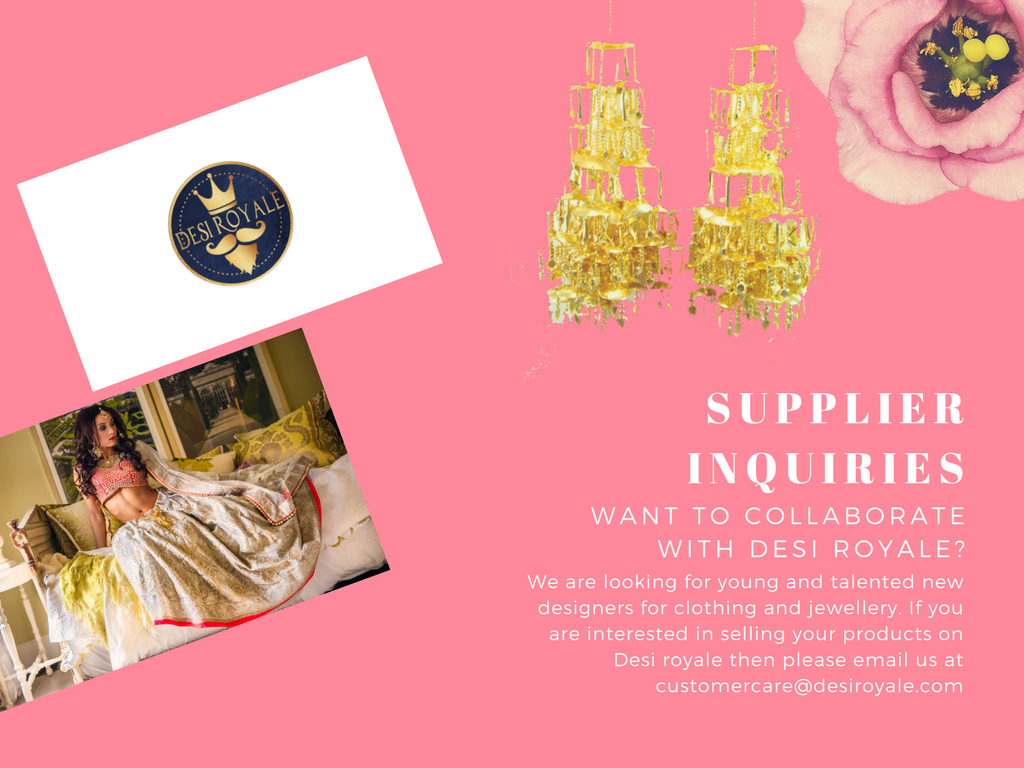 supplier inquiry - desi royale