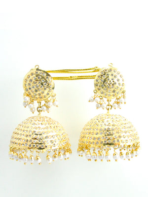 Saggi Domed earrings - Desi Royale