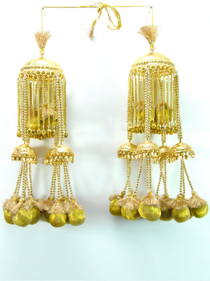Gold Kalire with Gold Tassles - Desi Royale