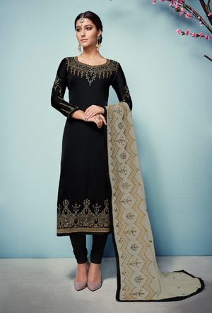 Black Salwar Suit - Desi Royale