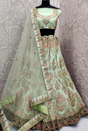 Light Green Lehenga Choli