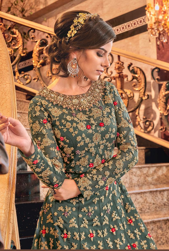 Green Salwar Suit