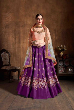 Gold Anarkali Suit - Desi Royale