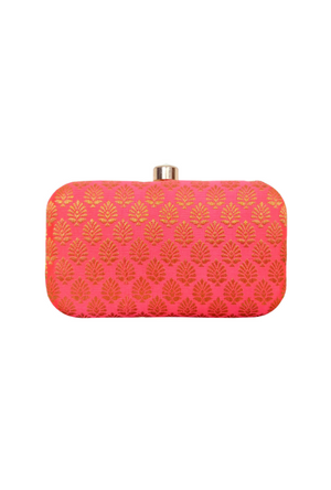 Pink Clutch bag - Desi Royale
