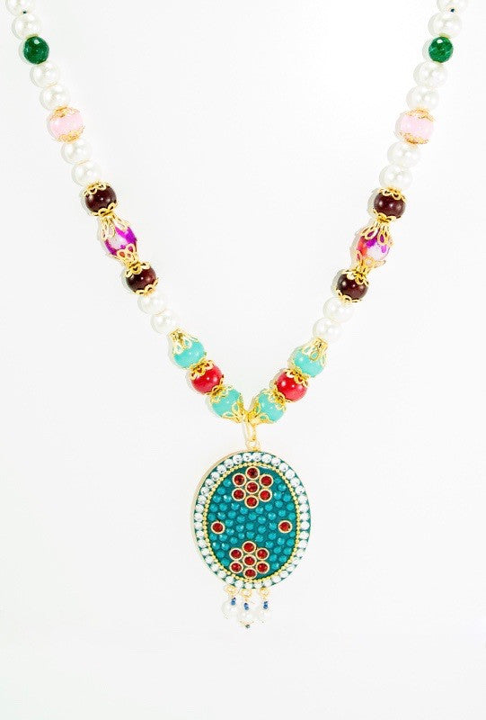 Akhlia Necklace Set - Desi Royale