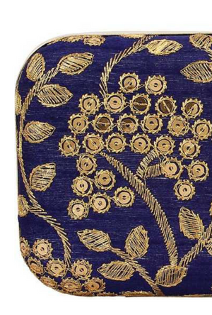 Blue Clutch bag - Desi Royale