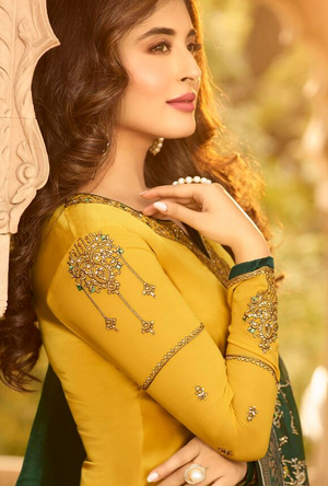 Yellow Salwar Suit - Desi Royale