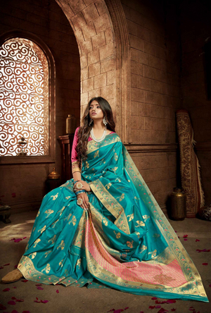 Dark Green Lehenga Choli - Desi Royale