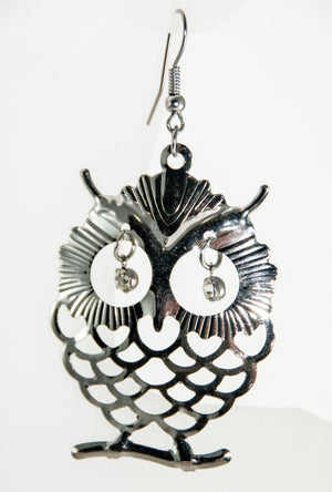 Owl earrings - Desi Royale