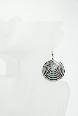 Nested circle earrings - Desi Royale