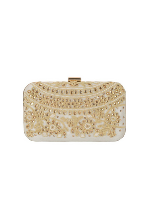 Off White Clutch bag - Desi Royale