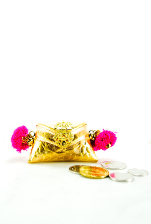 Pink Mini Coin bag - Desi Royale