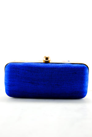 Red Gotta Patti Clutch - Desi Royale