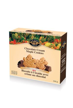 Chocolate Creme Maple Cookies Box - Desi Royale