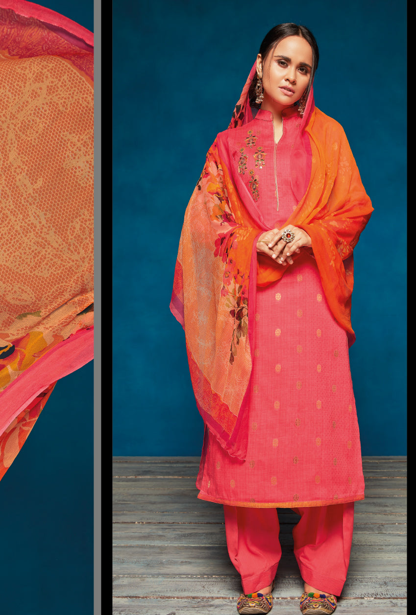 Pink Indian Suit - Desi Royale