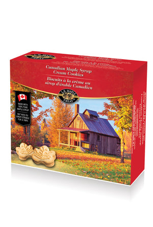 Canadian Maple Biscuits - Desi Royale
