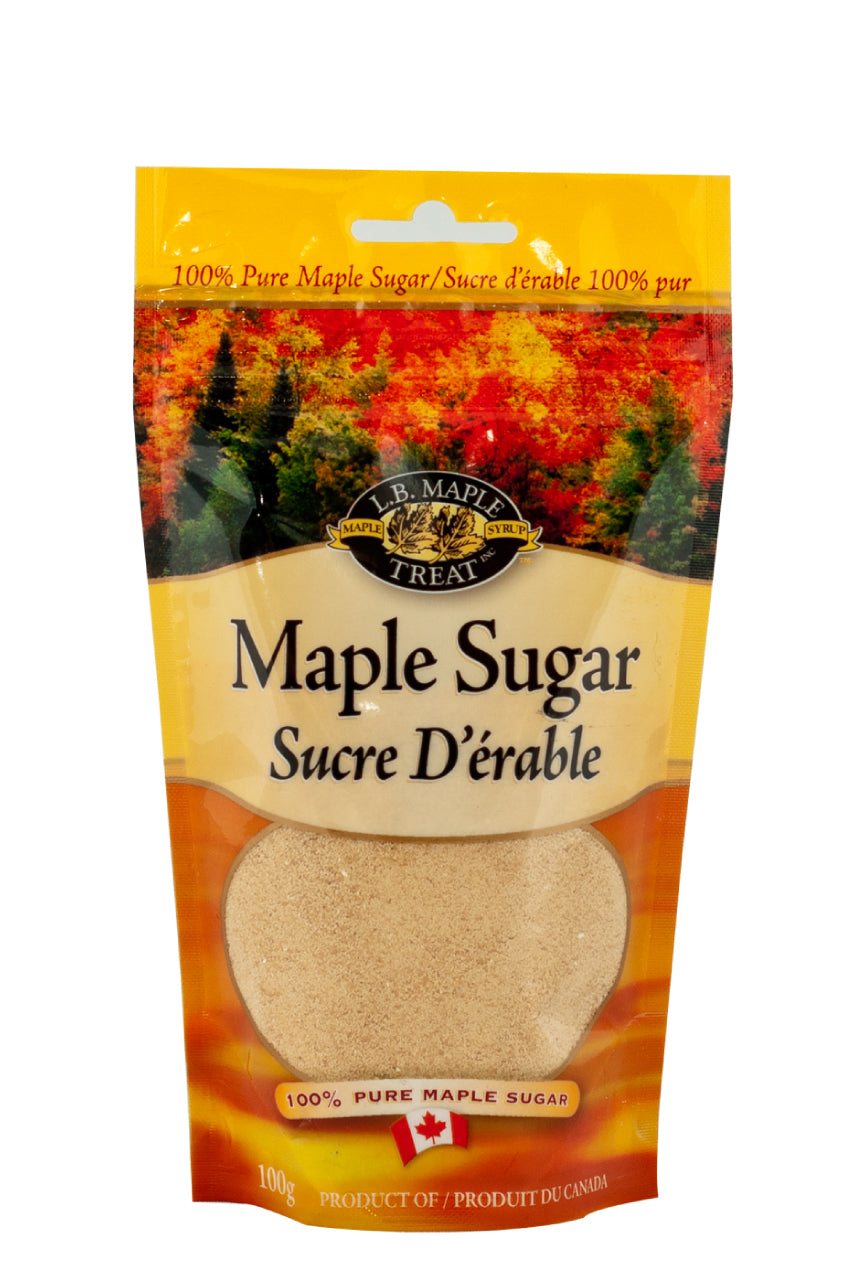 Pure Maple Syrup Granules In Resealable Pouch - Desi Royale