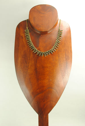 Sterling Gold Ekavali Necklace - Desi Royale