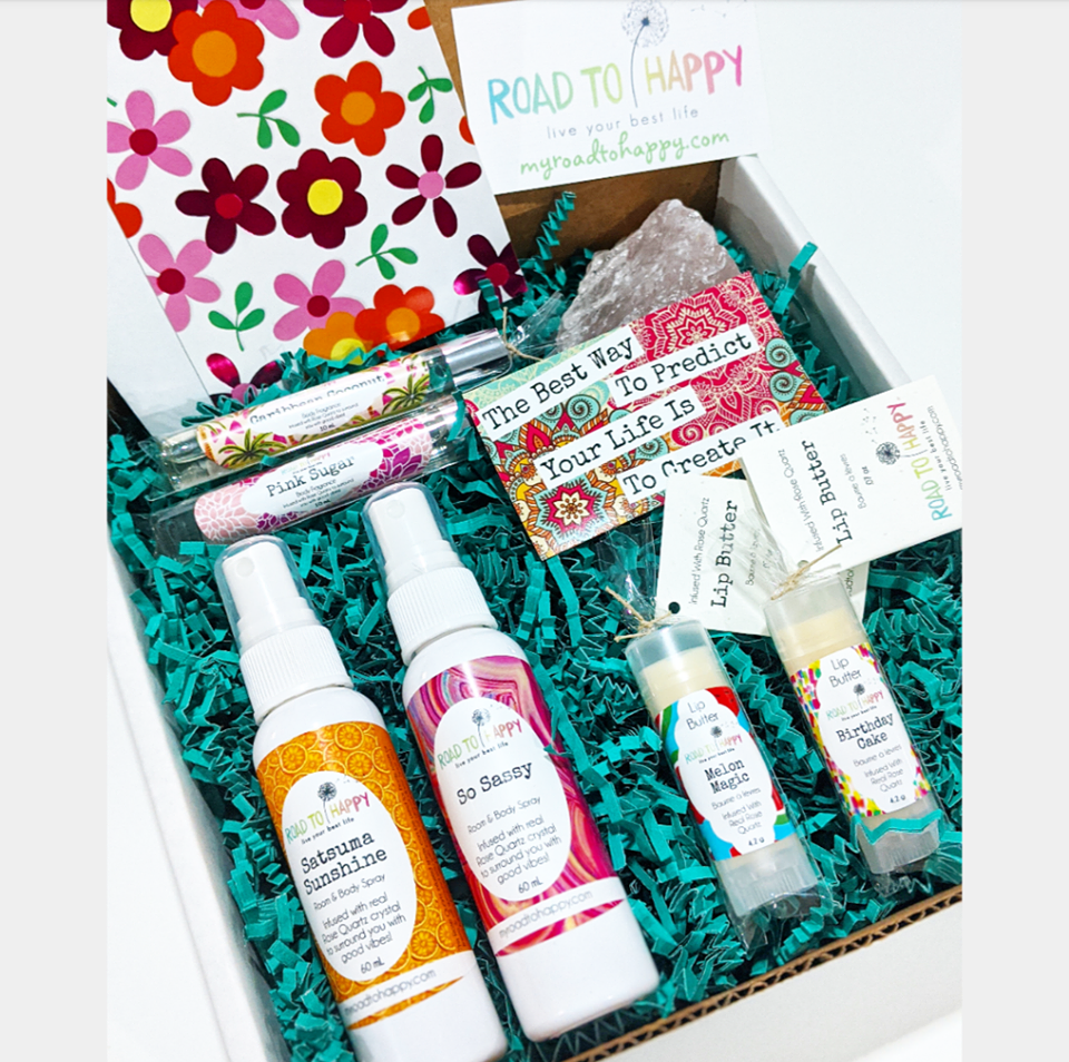 Gift Box - Rose Quartz Sampler
