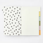 Caroline Gardner Rainbow Multi Tab Notebook